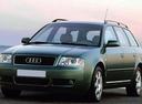 Фото авто Audi A6 4B/C5, ракурс: 45 цвет: зеленый
