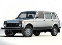 Фото авто ВАЗ (Lada) 4x4 1 поколение [рестайлинг], ракурс: 45 цвет: серебряный
