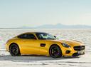 Фото авто Mercedes-Benz AMG GT C190, ракурс: 315 цвет: желтый