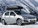 Фото авто Opel Astra Family/H [рестайлинг], ракурс: 315 цвет: серебряный