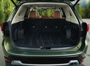 Фото авто Subaru Forester 5 поколение, ракурс: багажник цвет: зеленый