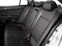 Фото авто Mitsubishi Lancer X, ракурс: задние сиденья