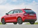 Фото авто Skoda Rapid 3 поколение [рестайлинг], ракурс: 135 цвет: красный