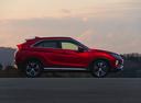 Фото авто Mitsubishi Eclipse Cross 1 поколение, ракурс: 270 цвет: бордовый