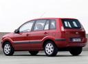 Фото авто Ford Fusion 1 поколение [рестайлинг], ракурс: 135 цвет: красный