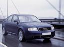 Фото авто Audi A6 4B/C5, ракурс: 315 цвет: черный