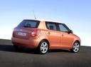 Фото авто Skoda Fabia 5J, ракурс: 225 цвет: бронзовый
