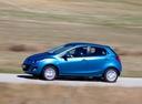 Фото авто Mazda 2 DE [рестайлинг], ракурс: 90 цвет: голубой