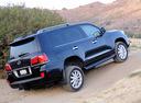 Фото авто Lexus LX 3 поколение, ракурс: 225 цвет: черный