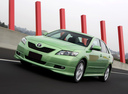 Фото авто Toyota Camry XV40, ракурс: 45 цвет: салатовый