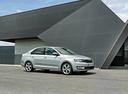 Фото авто Skoda Rapid 3 поколение, ракурс: 315 цвет: серебряный