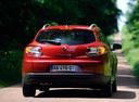 Фото авто Renault Megane 3 поколение, ракурс: 180 цвет: красный