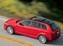 Фото авто Audi A3 8P/8PA [рестайлинг], ракурс: 135 цвет: красный