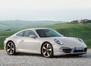 Фото авто Porsche 911 991, ракурс: 315 цвет: белый