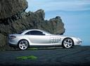 Фото авто Mercedes-Benz SLR-Класс C199, ракурс: 270 цвет: серебряный