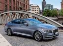 Фото авто Hyundai Genesis 2 поколение, ракурс: 315 цвет: серебряный