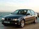 Фото авто BMW 3 серия E46 [рестайлинг], ракурс: 45 цвет: черный