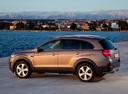 Фото авто Chevrolet Captiva 1 поколение [2-й рестайлинг], ракурс: 135 цвет: коричневый