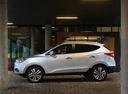 Фото авто Hyundai ix35 1 поколение [рестайлинг], ракурс: 90 цвет: серебряный