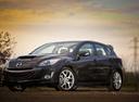 Фото авто Mazda 3 BL, ракурс: 45 цвет: черный