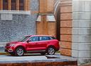 Фото авто Geely Atlas 1 поколение, ракурс: 90 цвет: красный