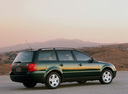 Фото авто Volkswagen Passat B5, ракурс: 225 цвет: зеленый