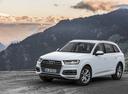 Фото авто Audi Q7 4M, ракурс: 45 цвет: белый