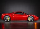 Фото авто Ferrari 488 1 поколение, ракурс: 270 цвет: красный