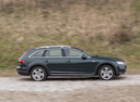 Фото авто Audi A4 B9, ракурс: 270 цвет: зеленый
