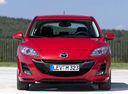 Фото авто Mazda 3 BL,  цвет: красный