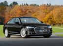 Фото авто Audi A8 D5, ракурс: 315 цвет: черный