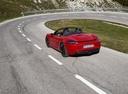 Фото авто Porsche Boxster 982, ракурс: 135 цвет: красный