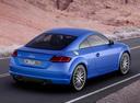 Фото авто Audi TT 8S, ракурс: 225 цвет: синий