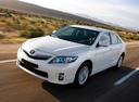 Фото авто Toyota Camry XV40 [рестайлинг], ракурс: 45 цвет: белый