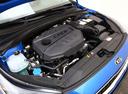 Фото авто Kia Cee'd 3 поколение, ракурс: двигатель цвет: синий