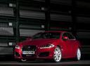 Фото авто Jaguar XF X250 [рестайлинг], ракурс: 45 цвет: красный