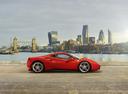Фото авто Ferrari 488 1 поколение, ракурс: 270 цвет: оранжевый