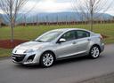 Фото авто Mazda 3 BL, ракурс: 45 цвет: серебряный