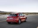 Фото авто Audi Q5 2 поколение, ракурс: 225 цвет: вишневый