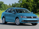 Фото авто Volkswagen Jetta 6 поколение [рестайлинг], ракурс: 315 цвет: голубой