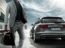Фото авто Audi RS 6 C7 [рестайлинг], ракурс: 180 цвет: серебряный