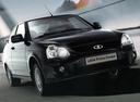 Фото авто ВАЗ (Lada) Priora 1 поколение [рестайлинг], ракурс: 315 цвет: черный