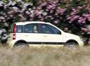 Фото авто Fiat Panda 2 поколение, ракурс: 270 цвет: желтый