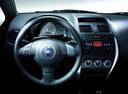 Фото авто Fiat Sedici 1 поколение [рестайлинг], ракурс: рулевое колесо