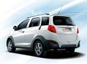 Фото авто Chery IndiS 1 поколение, ракурс: 135 цвет: белый