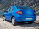 Фото авто Renault Logan 2 поколение, ракурс: 135 цвет: синий