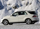 Фото авто Mercedes-Benz M-Класс W166, ракурс: 90 цвет: белый