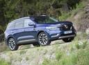 Фото авто Renault Koleos 2 поколение, ракурс: 315 цвет: синий