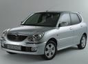 Фото авто Daihatsu Sirion 1 поколение [рестайлинг], ракурс: 45 - рендер цвет: серебряный