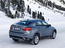 Фото авто BMW X6 E71 [рестайлинг], ракурс: 225 цвет: серый